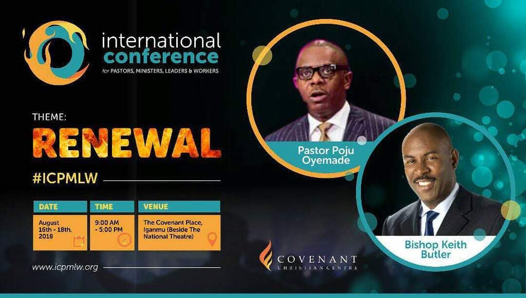 INTERNATIONAL CONFERENCE FOR PASTORS, MINISTERS, LEADERS AND